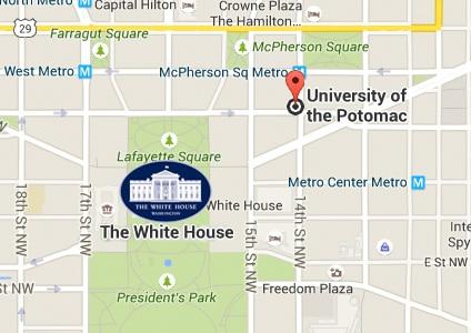 Washington DC Campus Map University of the Potomac