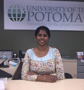 Aarathi Pabbathi is one of our international student ambassadors. She is from Hyderabad, India getting her MBA degree.