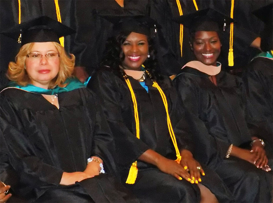 Graduate Students at 26th Commencement Ceremony
