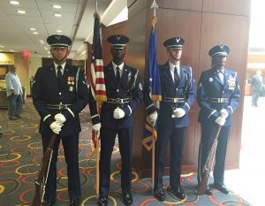 U.S. Air Force Color Guard Unit at our 26th Commencement Ceremony