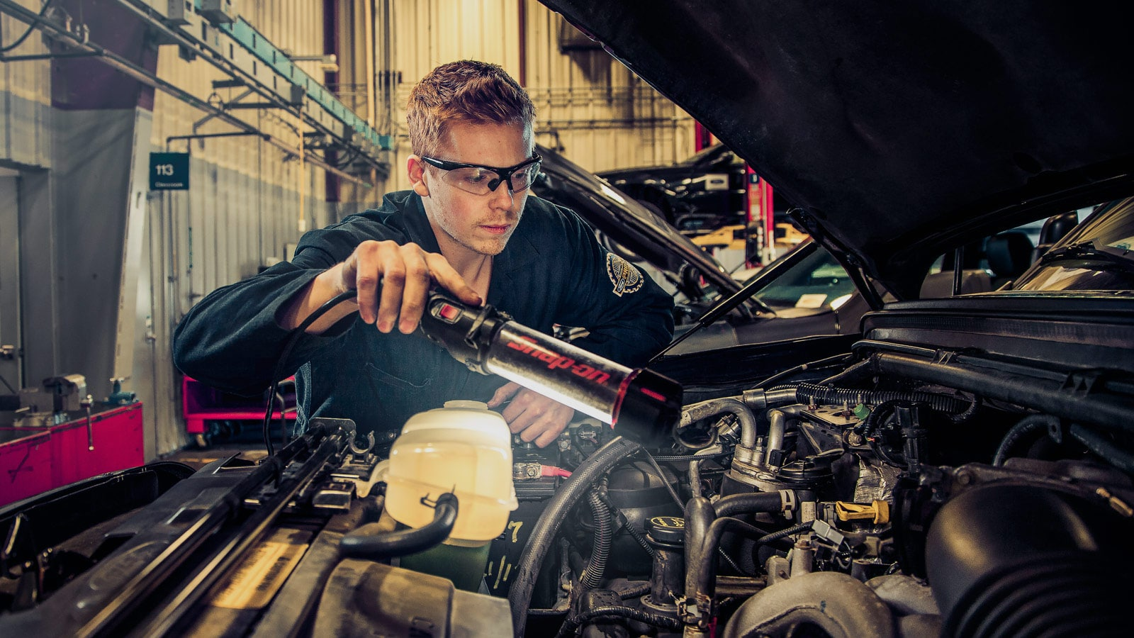 Quick entry into a career as an automotive service technician for Motor vehicle body repair