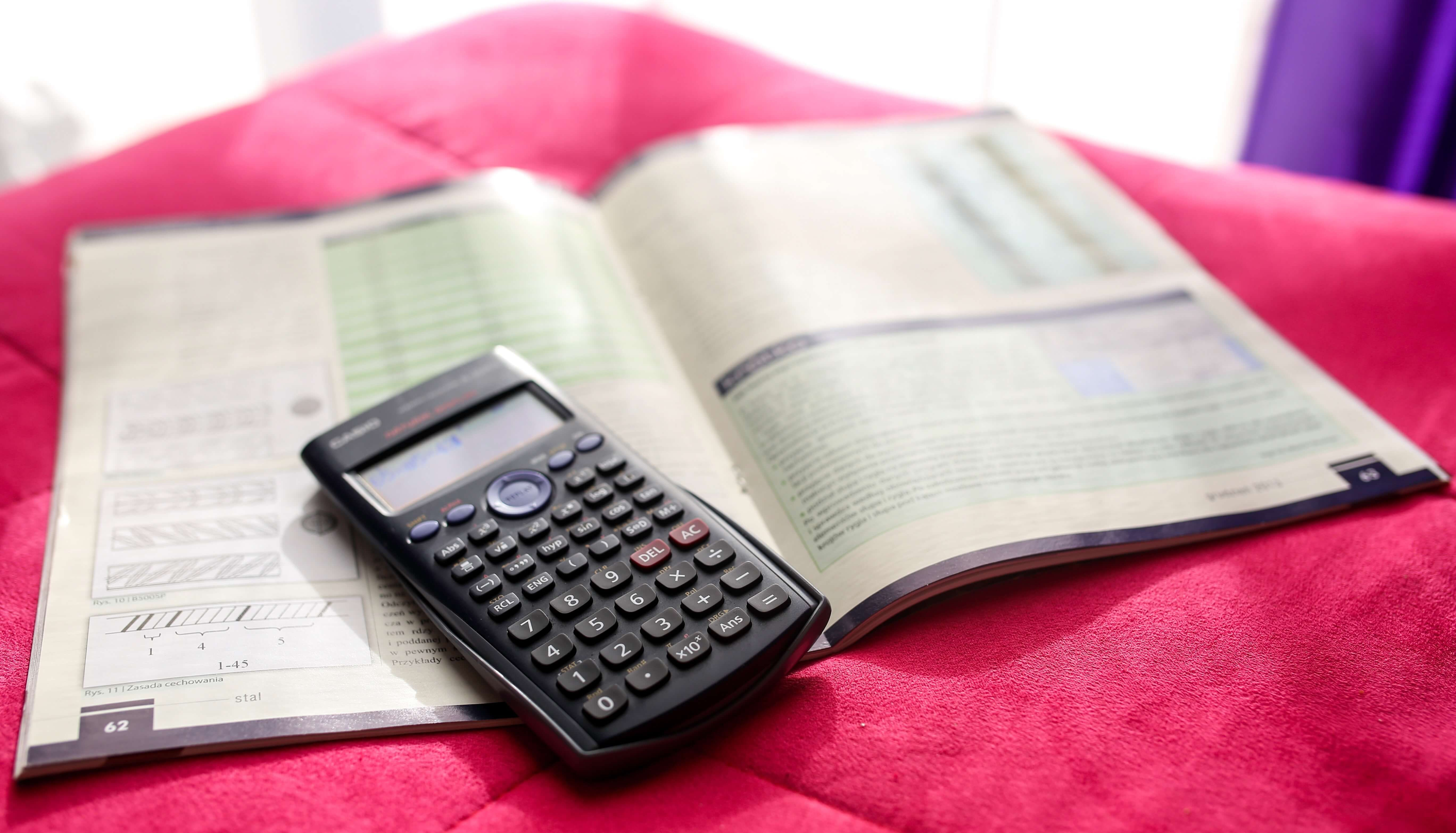 accountant studying for CPA exam