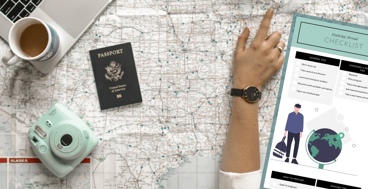 studying abroad checklist